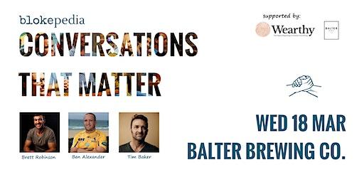 Conversations that Matter: Balter Brewing Co.