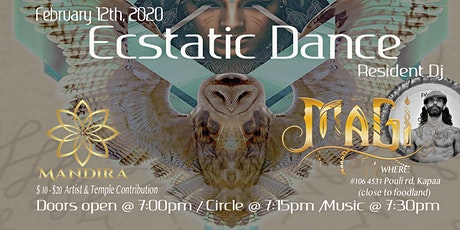 Wednesday Night Ecstatic Dance @ Mandira tickets
