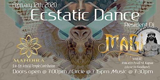 Wednesday Night Ecstatic Dance @ Mandira