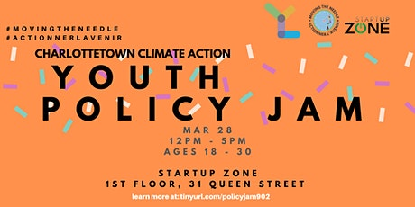 Climate Action Youth Policy Jam: Charlottetown tickets