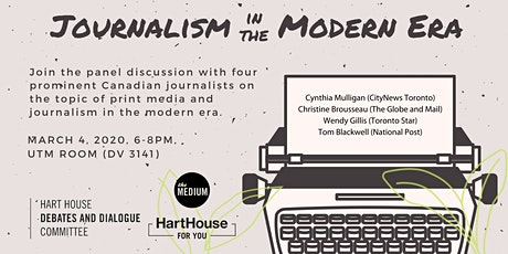 Journalism in the Modern Era tickets
