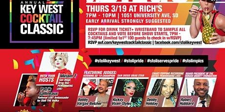 7th annual Stoli Key West Cocktail Classic in San Diego: The Stolimpics! tickets