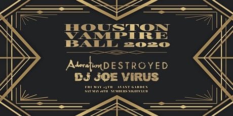 Houston Vampire Ball 2020 tickets