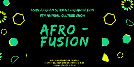 CSUN ASO 5th Annual Culture Show tickets