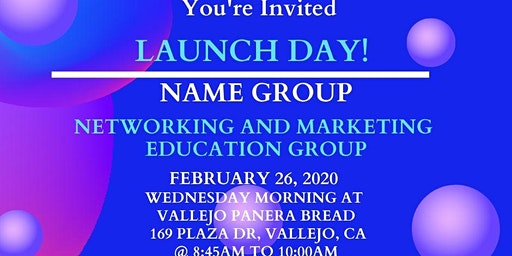 NAME GROUP LAUNCH