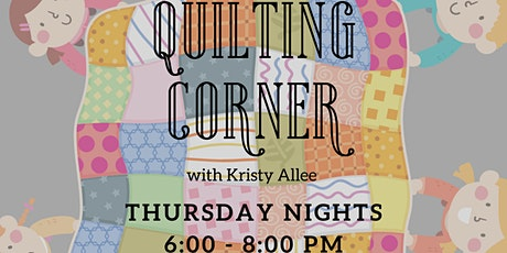 Quilting Corner with Kristy Allee tickets