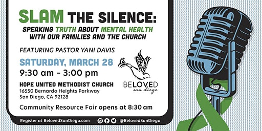 SLAM the Silence: Speaking Truth about Mental Health with our Families and the Church