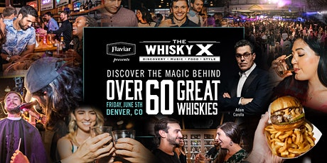 Flaviar Presents The WhiskyX Denver with Adam Carolla Live! tickets
