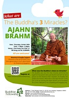 """Dhamma Talk """"What are The Buddha's 3 Miracles?"""" by Ajahn Brahm on 26 March 2020"""