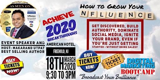 "Digital Marketing Bootcamp - ""Broadcast Your Brilliance"""