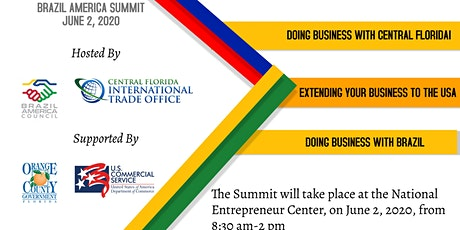 III BRAZIL AMERICA SUMMIT- HOSTED BY BAC  &  CFITO tickets