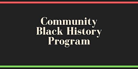Community Black History Program tickets