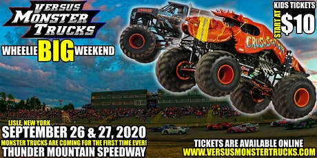 Versus Monster Trucks Wheelie Big Weekend tickets