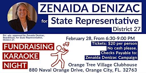 Zenaida Denizac Campaign  Fundraiser