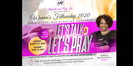 Women's Fellowship - Let's Talk & Let's Pray