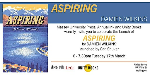 Book Launch | Aspiring by Damien Wilkins