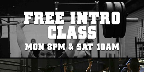 CrossFit Free Intro Class tickets