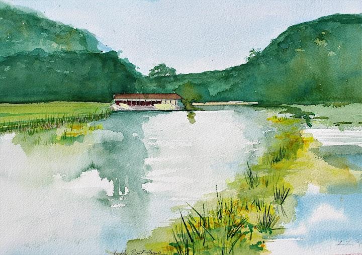 Lou Lou Rose Painting & Drawing Workshop image