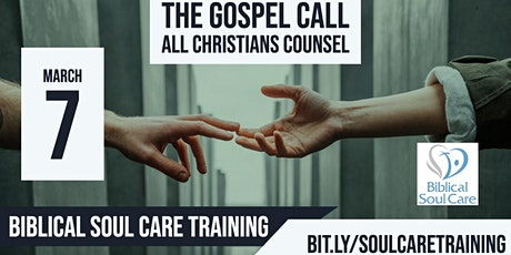 Biblical Soul Care Training: Restoring Broken Believers to the Grace of God tickets