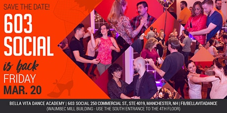 603 Salsa and Bachata Social | Friday, March 20 tickets