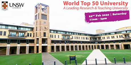 Meet World Top 50 Uni - UNSW Sydney in Singapore tickets