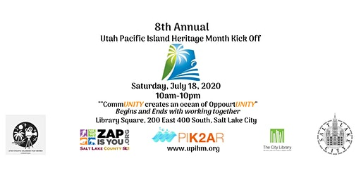 8th Annual Utah Pacific Island Heritage Month Kick Off Vendor Information