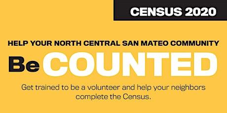 Volunteer Census 2020 Training tickets