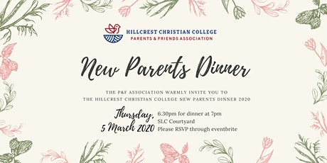 Hillcrest Christian College New Parents Dinner 2020 tickets
