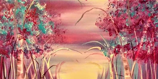 Enchanted Love Path Paint-n-Sip Event!