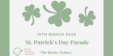 Join Irish Women Abroad group marching in the St Patricks Day parade tickets