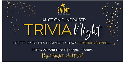 Time to Shine Trivia and Dinner Fundraiser