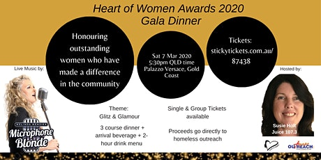 Heart of Women Awards 2020 - Gala Dinner tickets