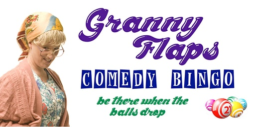 Granny Flaps Comedy Bingo CHITON ROCKS
