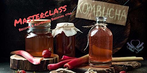 Kombucha Brewing Masterclass