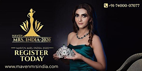 Maven Mrs India 2020 Auditions in Jaipur tickets