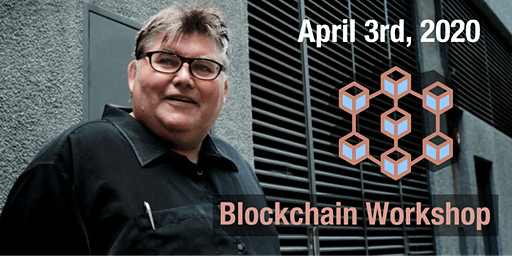 A full morning of Blockchain learning with Inventor Ric Richardson