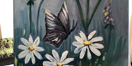 """""""Spring"""" Painting Activity For Ages 13 To Adult -With Tea Tasting tickets"""