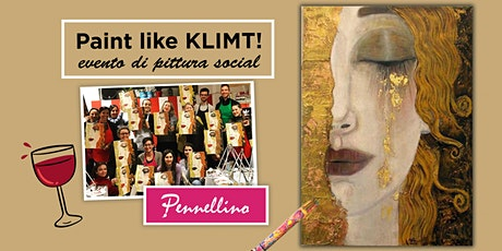 Paint like KLIMT - evento di pittura social! biglietti
