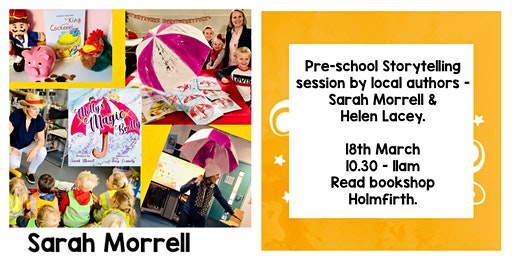 Storytime with Sarah Morrell and Helen Lacey