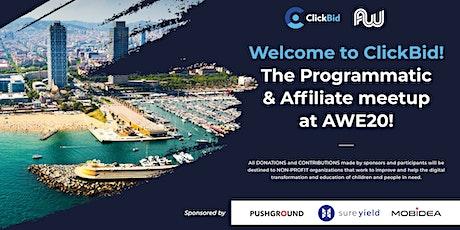 ClickBid AWE 2020 tickets