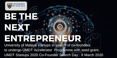UM Startups Co-Founder Search Day tickets