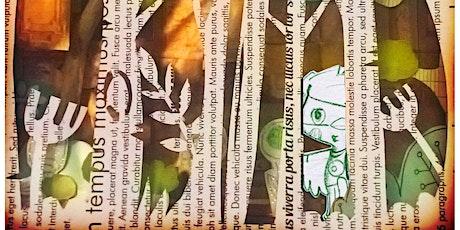 Mixed media, collage Illustration workshop - week 2 tickets