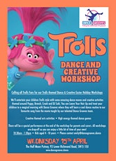 Trolls themed Dance & Creative Easter Holiday Workshop at The Half Moon Putney tickets