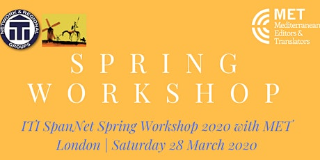 ITI Spanish Network Spring Workshop 2020 with MET tickets