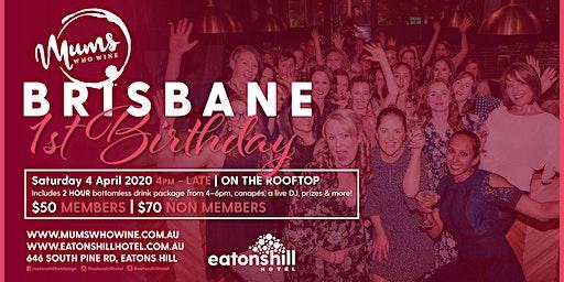 Mums Who Wine Brisbane 1st Birthday