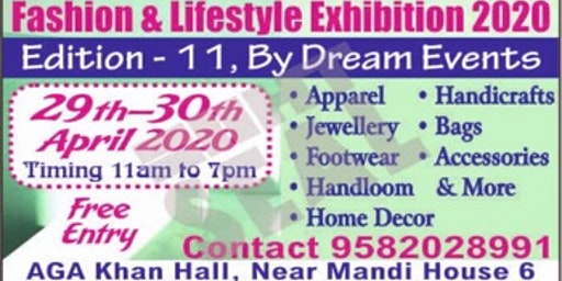 Fashion & Lifestyle Exhibition 2020 by Dream Events