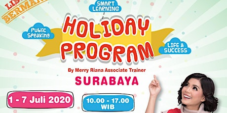 Holiday Program By Merry Riana tickets