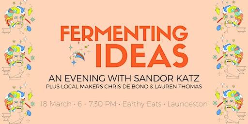 Fermenting Ideas: An Evening with Sandor Katz