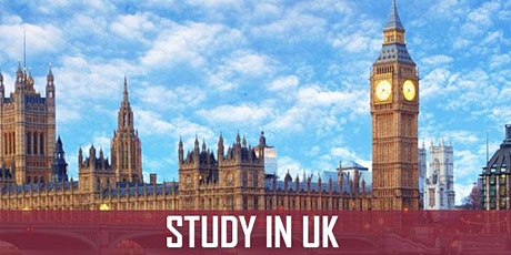 Study In UK - info and application session tickets