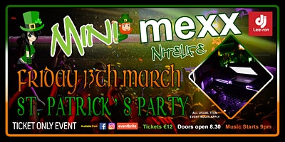 Mini MeXx Nite Life St.Patrick's Party 2020